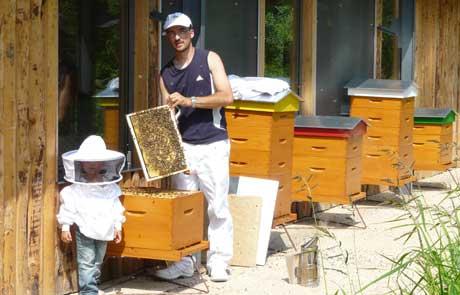 Le rucher pédagogique de Châtillon-sur-chalaronne
